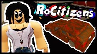 MY FIRST CAR! - ROCITIZENS - Roblox