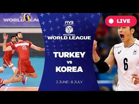 Turkey v Korea - Group 2: 2017 FIVB Volleyball World League
