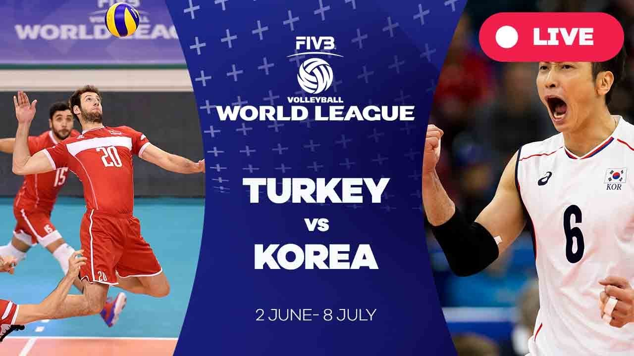 Turkey v Korea - Group 2: 2017 FIVB Volleyball World League
