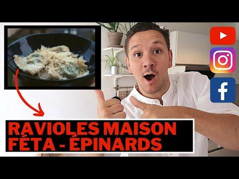 recette-ravioles,-fÉta-/-Épinard---les-tutos-de-toinoux