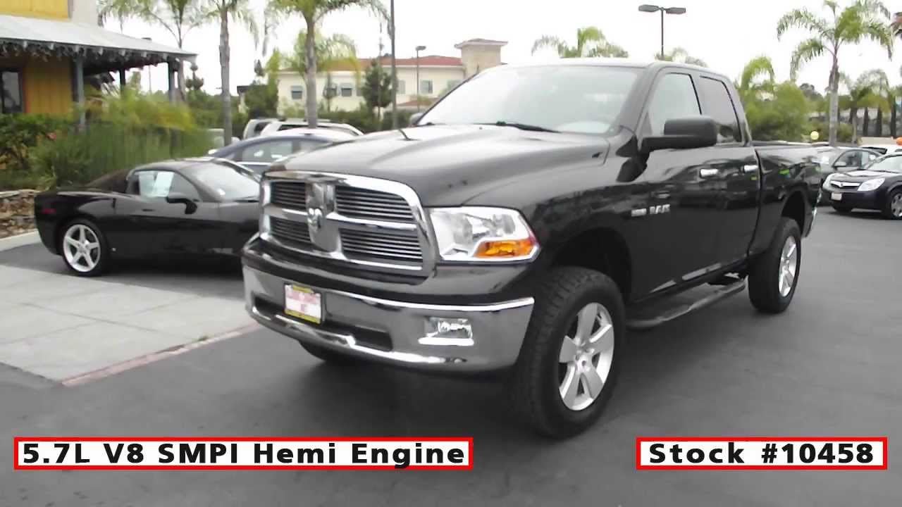 Used Dodge Ram 1500 For Sale >> 2010 Used Dodge Ram 1500 Slt 4x4 Quad Cab For Sale In San Diego At Classic Chariots 10458