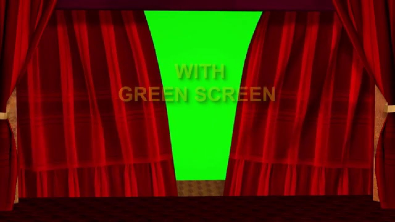 Green stage curtains - Stage Curtain Green Screen Effect Incorporated
