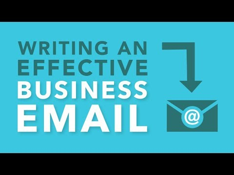 Writing An Effective Business Email