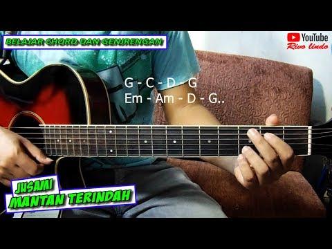 Jusami Band - Mantan Terindah (TUTORIAL CHORD GITAR ASLI VERSI GAMPANG)