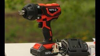 Ударный аккумуляторный гайковерт Yato YT-82805 обзор