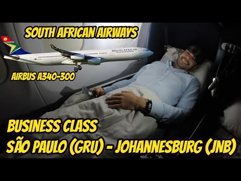 Flight Report #5: São Paulo (GRU) - Johannesburg (JNB), na  Business Class da South African Airways