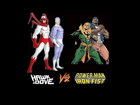 Grudge Match 75: Hawk and Dove vs Power Man and Iron Fist