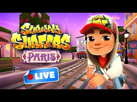 🎮 Subway Surfers World Tour 2018 - Paris Gameplay Livestream Paris (Valentine's Day)
