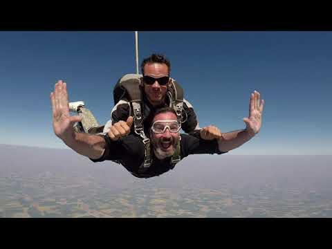 Patrick Valding - Premier Saut Parachute