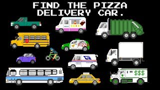 Find The Vehicles - Street, Emergency, Farm, and Construction Vehicles - The Kids