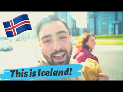 ICELAND VLOG - MY FIRST IMPRESSIONS!