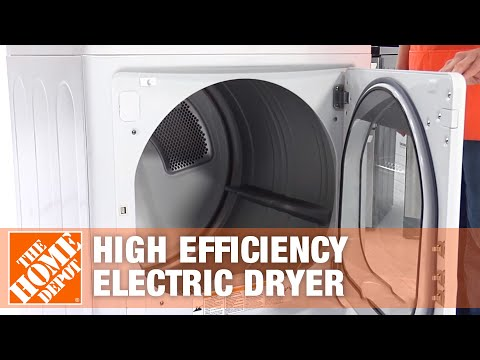 LG Electronics 7.1 Cu. Ft. Extra Large Capacity High Efficiency Electric Dryer | The Home Depot