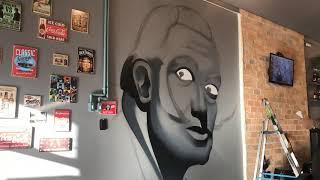 Baixar Grafite ao vivo na Braga Barbearia
