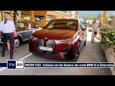 MOTOR TV22: Der erste BMW iX - einzigartig und erstklassig, das neue Technologie-Flaggschiff von BMW