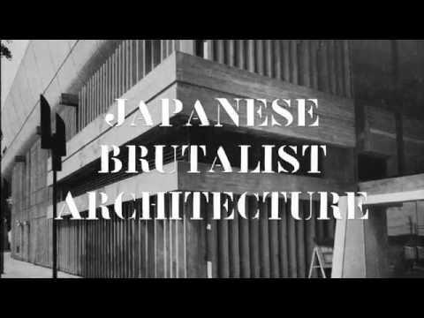 One Minute Architecture: Brutalist Tokyo - The Metropolitan Festival Hall Kunio Maekawa