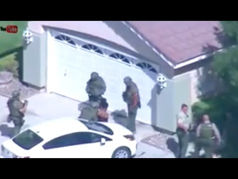LIVE NEWS: 2-Officers Shot - Lancaster, California - Suspect on the Loose - 10/05/16