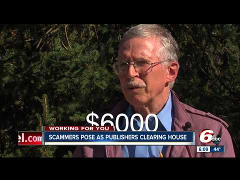 Watch out for scammers posing as Publishers Clearing House - YouTube