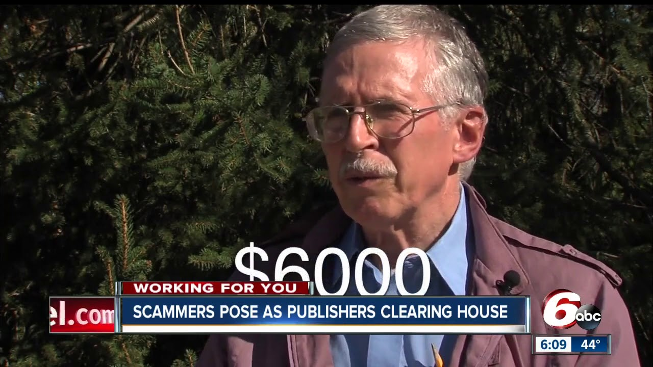 Watch out for scammers posing as Publishers Clearing House