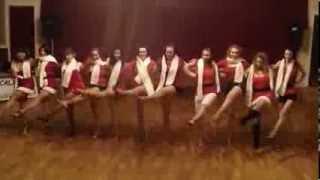 Salsa Caliente's Santa Baby Girls 2013