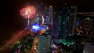 NYE 2019 Fireworks in Nha Trang