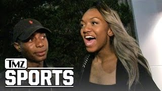 Magic Johnson's Daughter - I Think My Dad's Handling Dodgers Loss Well | TMZ Sports