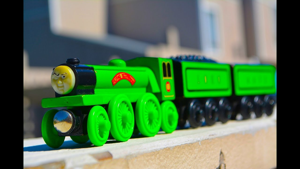 Thomas Friends Flying Scotsman Wooden Railway Toy Train Review By Mattel Fisher Price