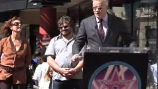 Tim Robbins Hollywood Walk of Fame Star Ceremony