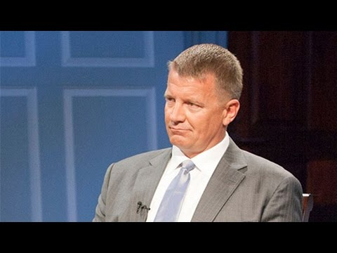 Erik Prince is Back: Former CEO of Blackwater Offering Services to the Trump Administration