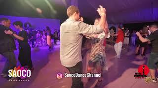 Pavel Voytov and Olga Gorbatenko Salsa Dancing in Malibu at The Third Front 2018, Sat 04.08.18 (SC)
