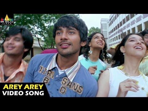 Happy Days Songs   Arey Arey Video Song   Varun Sandesh, Tamannah   Sri Balaji Video