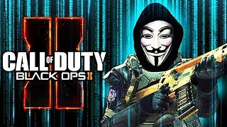 WORST HACKER EVER GETS TROLLED on CALL OF DUTY! (Black Ops 2 Trolling)