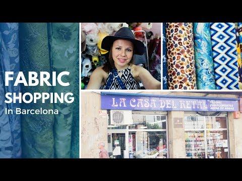 Discovering amazing cottons in La Casa del Retal ✁ FABRIC SHOPPING IN BARCELONA // Valeria Speck