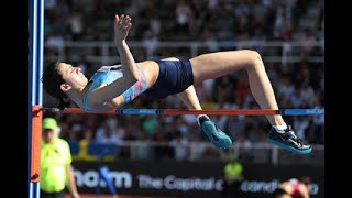 HIGH JUMP Women. Stockholm Diamond League 2017. Bauhaus Galan. 18.06.2017