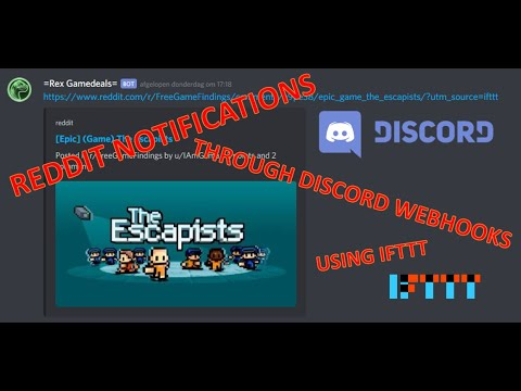 HOW TO GET NOTIFICATIONS FROM REDDIT THROUGH YOUR DISCORD WEBHOOKS - USING IFTTT