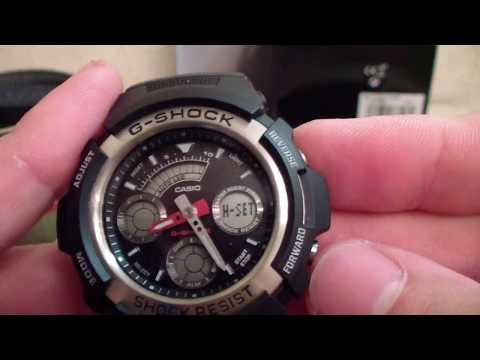 """Casio G Shock AW-590 -1 AER  Хороший бюджетный """"ШОК"""" на лето"""