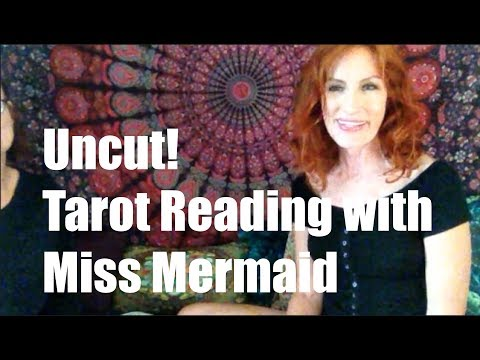 Tarot Reading Demo with Lisa. Uncut!