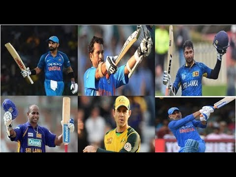 Top Ten Highest Runs in ODI Cricket | Top 10 batsman with highest runs in ODI | Top 10 Run scorer |