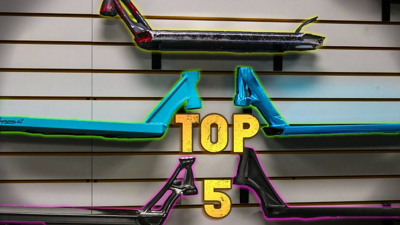 Top 5 lightest pro scooter decks youtube top 5 lightest pro scooter decks aloadofball Images