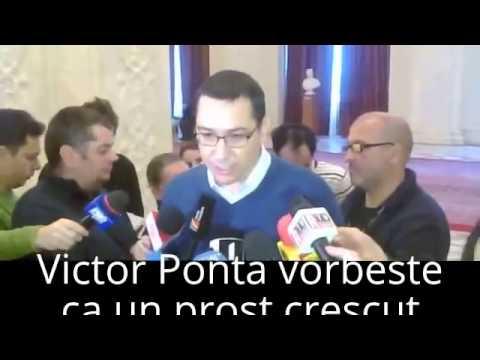 Victor Ponta jigniri fara precedent: Emil Boc, stupid si incapabil, vorbeste ca prostu