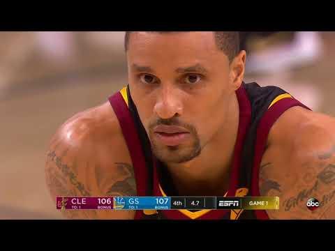 2018 NBA Finals Game 1 | Last 36 Seconds of Regulation | Cavaliers vs Warriors