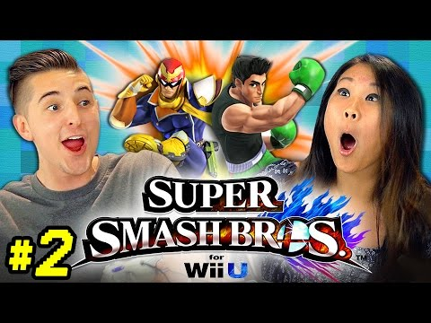 SUPER SMASH BROS. Wii U #2 (REACT: Gaming)