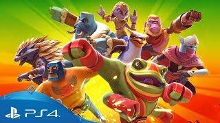 Brawlout   Announce Trailer   PS4