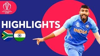 Rohit Hundred Seals Win | South Africa vs India | ICC Cricket World Cup 2019 Match Highlights