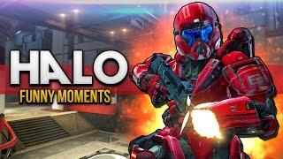 Halo 5: Guardians Multiplayer Fun - Angry Nogla, Mermaid, & More!
