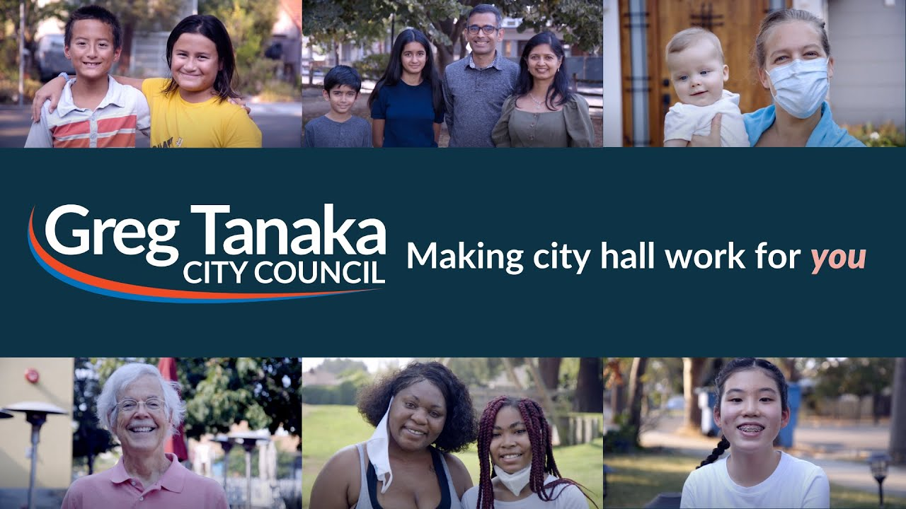 Make City Hall work for you | Palo Alto City Council | Greg Lin Tanaka | Subtitles