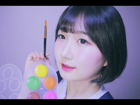 [한국어 ASMR , ASMR Korean] 페이스 페인팅 롤플레이 | Face Painting Roleplay