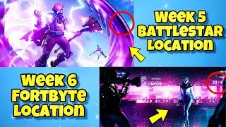 NEW SEASON 9 WEEK 5 & 6 LOADING SCREENS In Fortnite BR - SECRET BATTLE STAR LOCATION WEEK 5 SEASON 9
