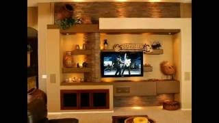 Living Room Interior Design |  modern TV cabinet Wall units furniture designs ideas for living room