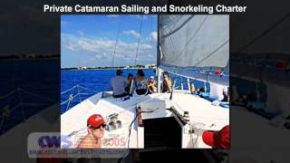 Private Catamaran Sailing and Snorkeling Charter in Cozumel