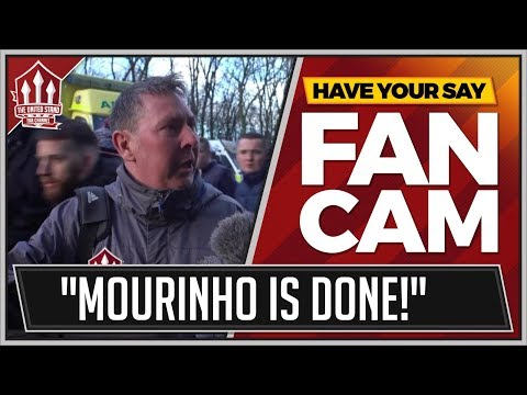 """MOURINHO's Changed Nothing!"" Newcastle United 0-1 Manchester United FanCam"